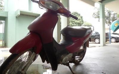 Moto Biz furtada é recuperada pela ROTAI neste domingo