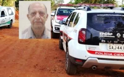 Leiteiro de Três Lagoas é encontrado morto na cidade de Castilho-SP