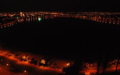 Palco de diversos roubos e furtos, prefeitura promete realizar reparos na iluminação da Lagoa Maior