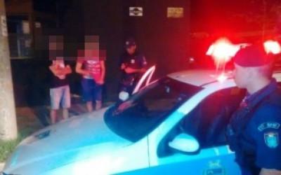 Polícia registra dois assaltos em um espaço de 37 minutos