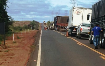 DNIT realiza obras de acostamento em um trecho de 40 km na rodovia BR-262