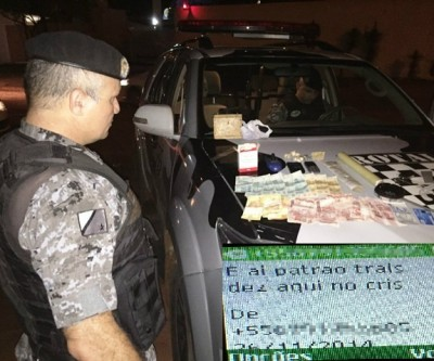 """""""Tourin"""" é preso pela Rotai e mensagens comprovam o tráfico de drogas"""