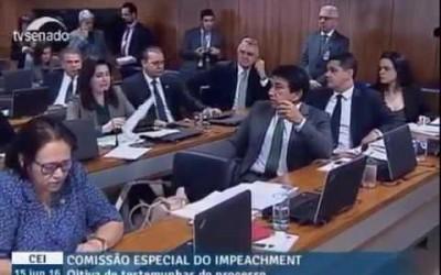 Simone Tebet desmascara Bancada da Chupeta lendo resolução do próprio PT contra Lava Jato