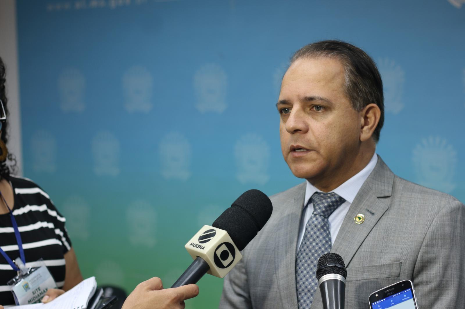 Coronel David planeja agenda futura com Bolsonaro para discutir segurança no MS
