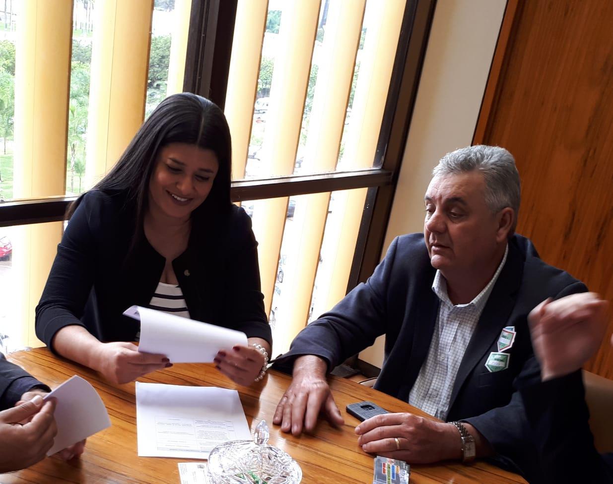 Prefeito de Três Lagoas se reúne com Ministro e parlamentares federais em Brasília