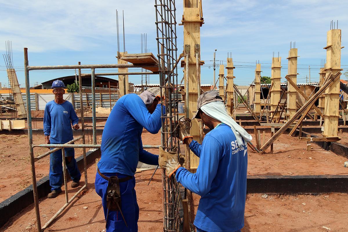 Obras do CAPS II seguem em ritmo acelerado em Três Lagoas