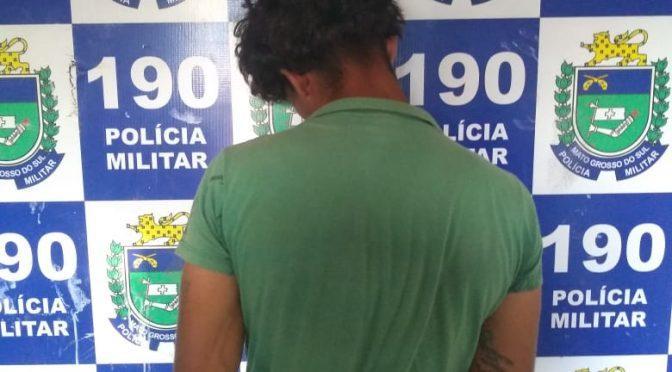 Polícia Militar prende jovem por descumprir medida protetiva de urgência em Três Lagoas