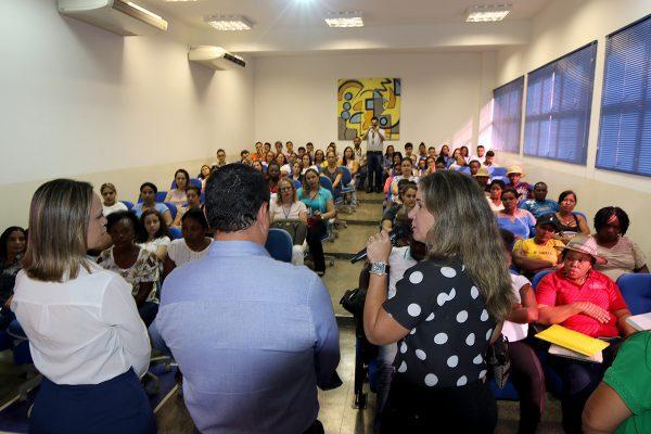 """Assistência Social é parceira nas ações do """"Dia D – Mulheres em Ação"""""""