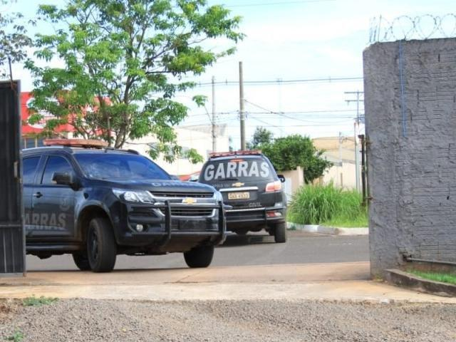 Garras faz operação para prender acusados de furto e roubos a banco