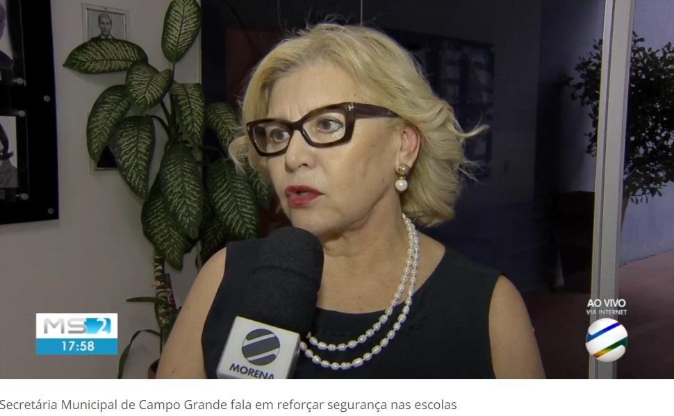 Secretaria de Educação de Campo Grande fala em reforço na entrada das escolas após tragédia em Suzano