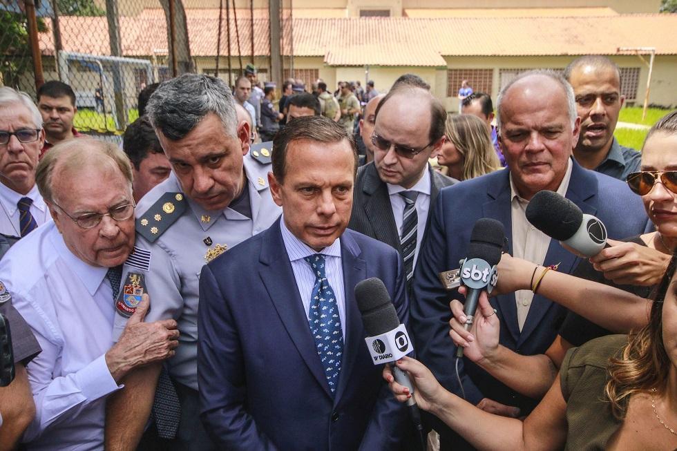 Doria anuncia indenização de R$ 100 mil a famílias de mortos