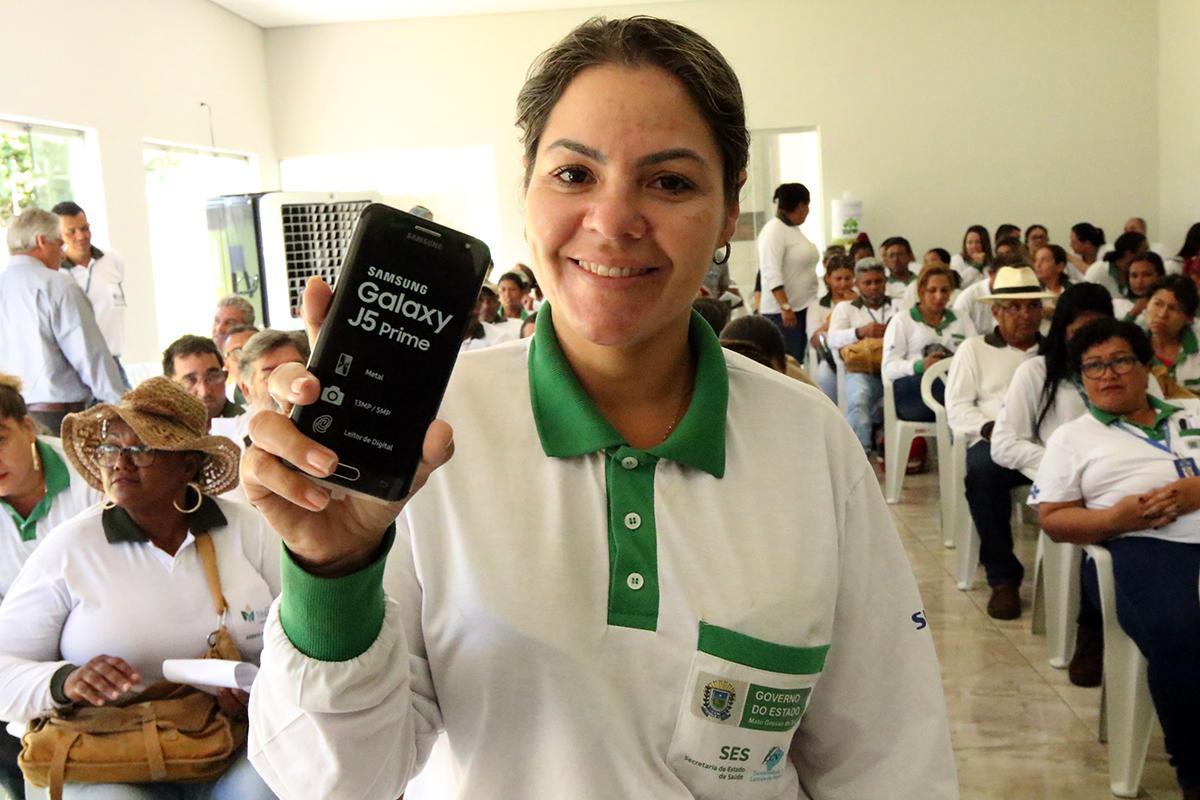 Agentes de Endemias de Três Lagoas passam a usar Smartphone no combate à Dengue