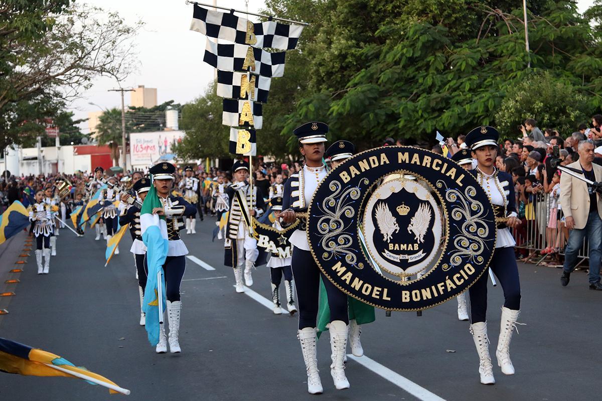 Estão abertas inscrições para o Desfile de 104 anos de Três Lagoas