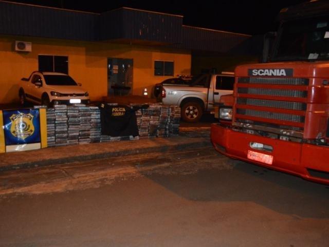 """Polícia apreende quase meia tonelada de cocaína na nova """"rota do pó"""" em MS"""