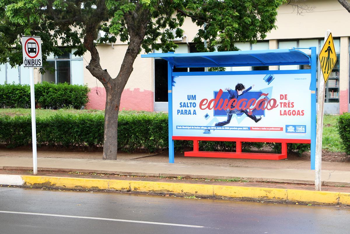 Prefeitura de Três Lagoas abre licitação para compra de mais pontos de ônibus cobertos