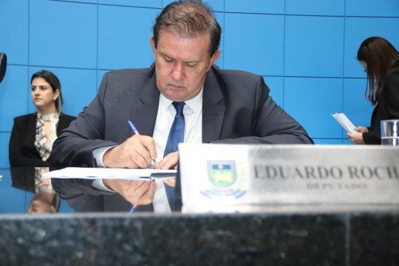 Deputado Eduardo Rocha, vice-presidente da ALMS, solicita melhorias para MS-440