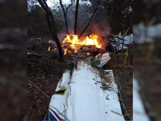 Médico e esposa são as vítimas de queda de avião a caminho de fazenda no Pantanal