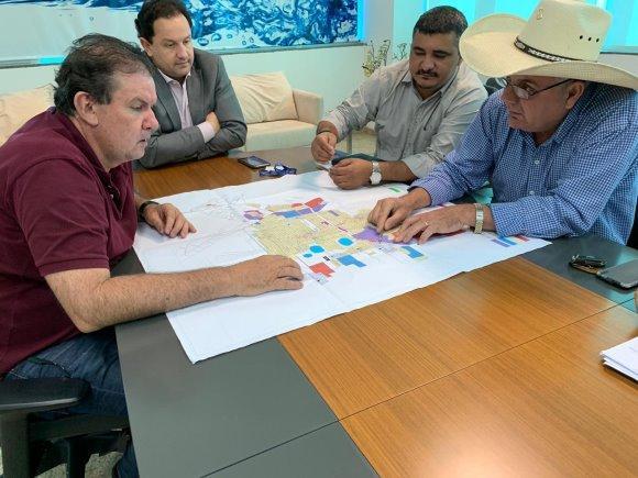 Na Sanesul, Eduardo Rocha e Angelo Guerreiro discutem investimentos de mais de R$ 40 milhões para TL