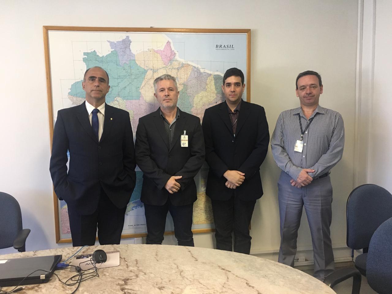 Secretário da SEDECT de Três Lagoas vai a Brasília para implantação da Guarda Municipal