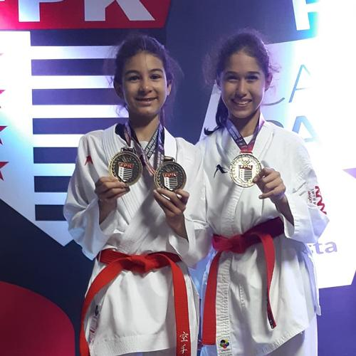 Equipe de Araçatuba conquista 5 medalhas no Paulista de Karatê