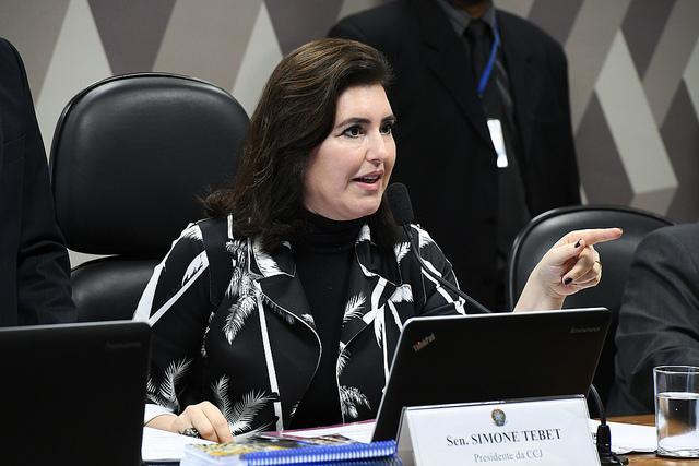 Simone diz que disposição de Moro em comparecer ao Senado é 'louvável'