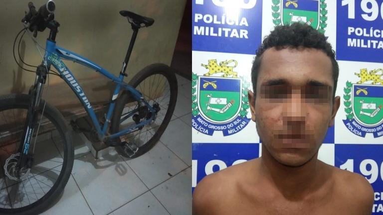 Suspeito de furto é detido e amarrado pela própria vítima no bairro Jardim Alvorada