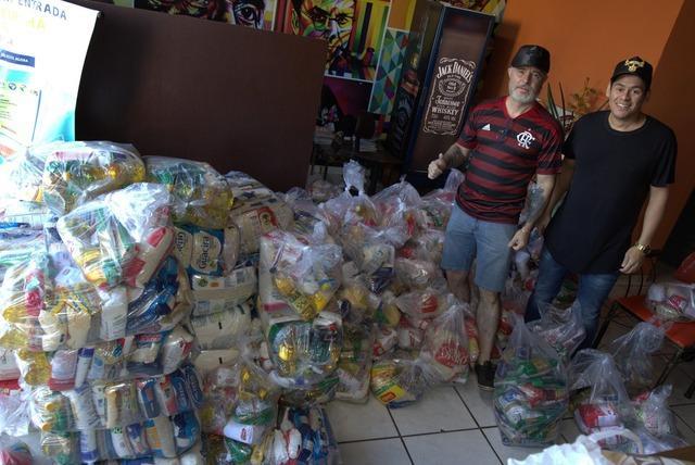 Alimentos arrecadados no Três Lagoas Rodeo são entregues para famílias carentes