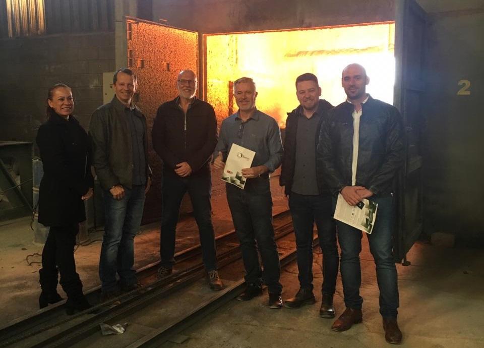 Gestores públicos fazem visita às instalações da Boreste Ligas; próxima empresa a ter uma filial em Três Lagoas