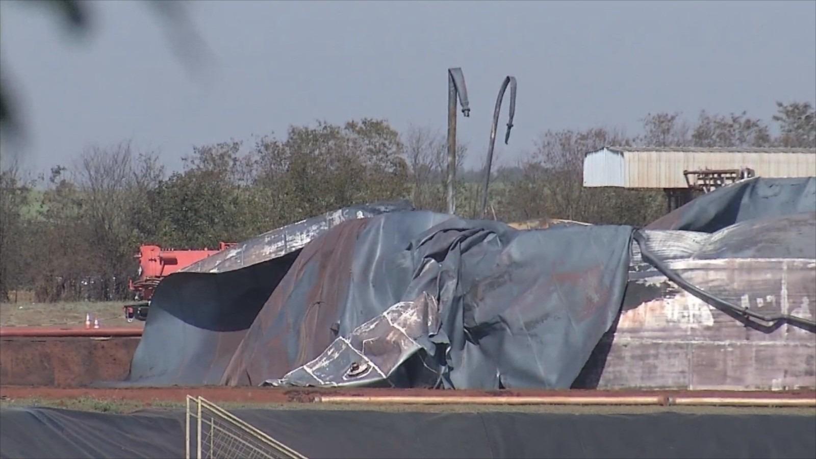 Explosão em tanque de usina queimou 11 milhões de litros de etanol, diz empresa