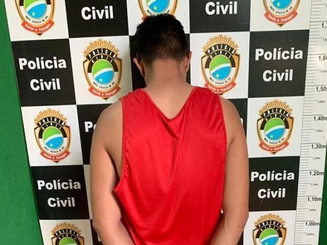 Jovem que estuprou criança em Três Lagoas é preso em Chapadão do Sul