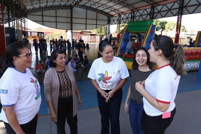 """Ações do Programa de Erradicação do Trabalho Infantil são levadas às crianças e adolescentes do CRASE """"Coração de Mãe"""""""