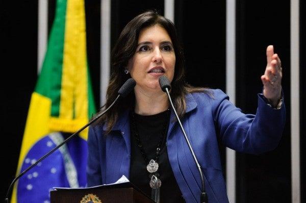 Simone cobra ajuda para estados em troca da reforma da Previdência