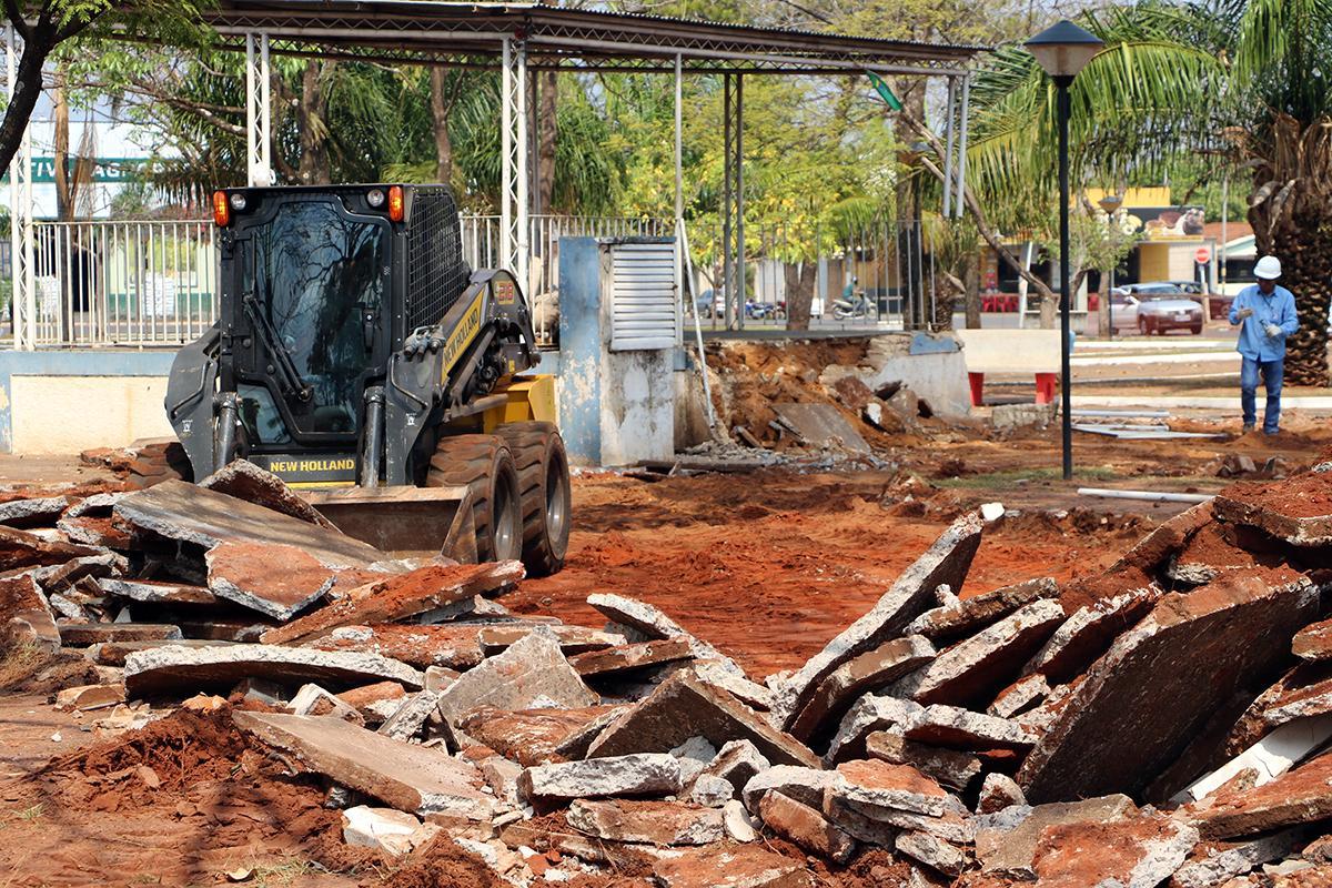 CONSERVAÇÃO: Praça do Jardim Alvorada será totalmente revitalizada