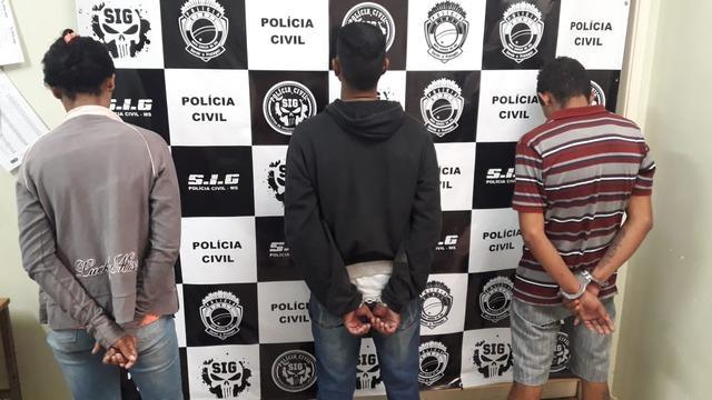 Três suspeitos do assassinato de mulher na Cascalheira são presos em Três Lagoas