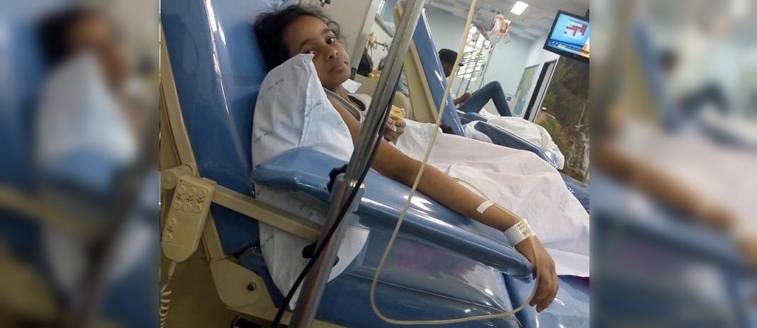 Mãe da pequena Geovana ainda não conseguiu doação de medula óssea para a filha