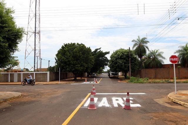 Ruas dos Bairros Santos Dumont e São Carlos têm mudança de preferencial