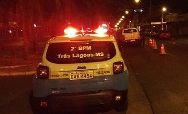 Policiais salvam vida de bebê engasgado em Três Lagoas