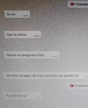 """Pedófilo é pego em flagrante após pedir foto de menina """"peladinha"""