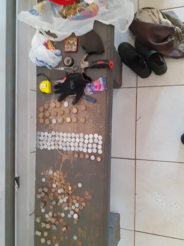 Ladrão que iria furtar até moedas é preso no Centro de Três Lagoas