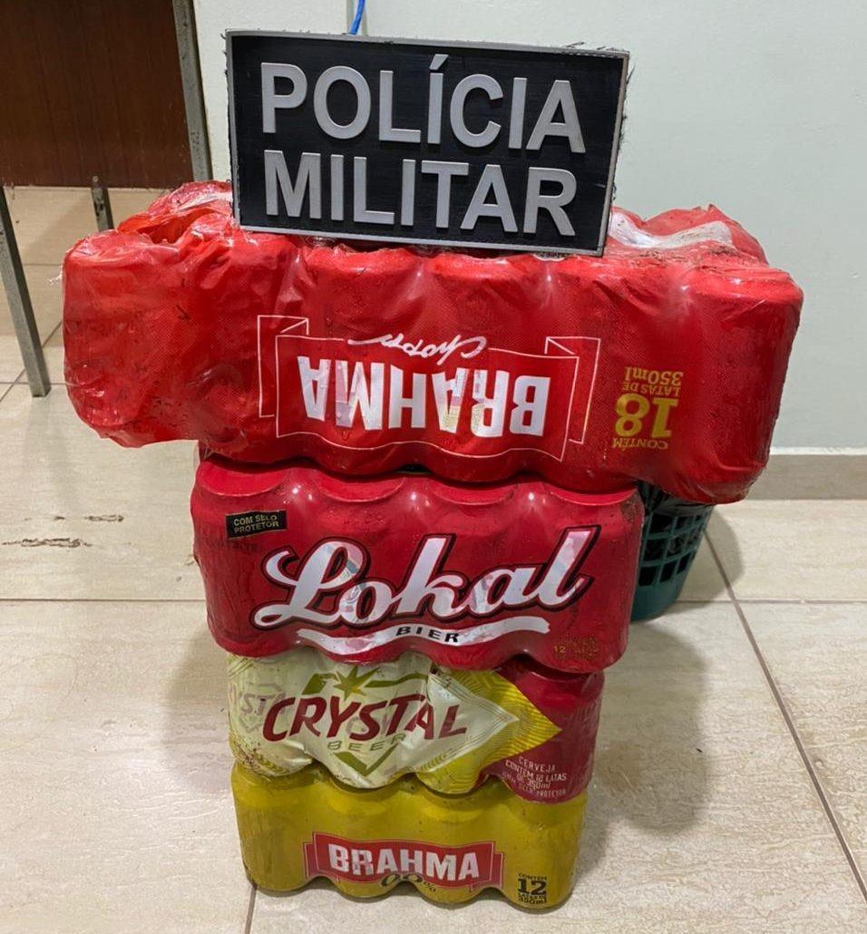 Polícia Militar prende autor de Furto a conveniência em Brasilândia (MS)