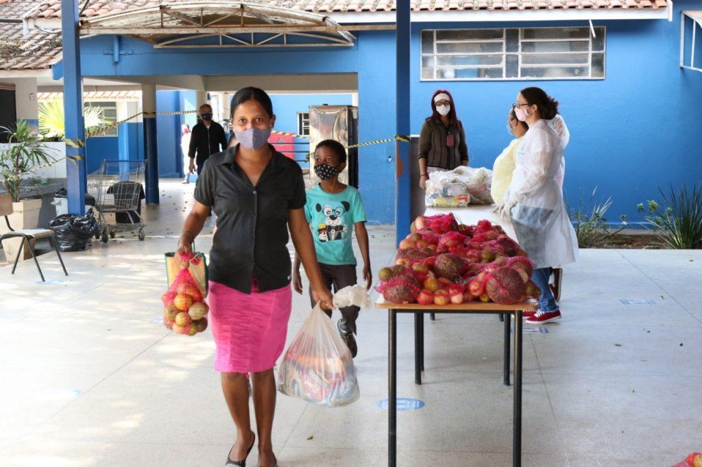 Começa hoje (27) a 5ª entrega dos Kits Alimentação nas Escolas e CEI's do Município