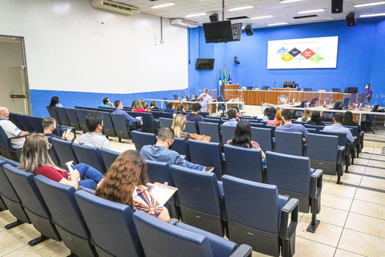 Prefeitura de TL realiza Audiências Públicas (PPA e LOA) na Câmara Municipal da Cidade