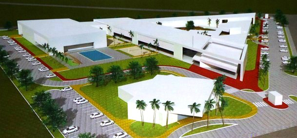 Nova escola do SESI irá abrigar 1.200 alunos por turno