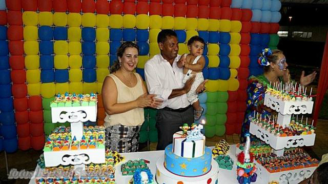 Aniversário de Pedro – filho de Rialino e Michelle