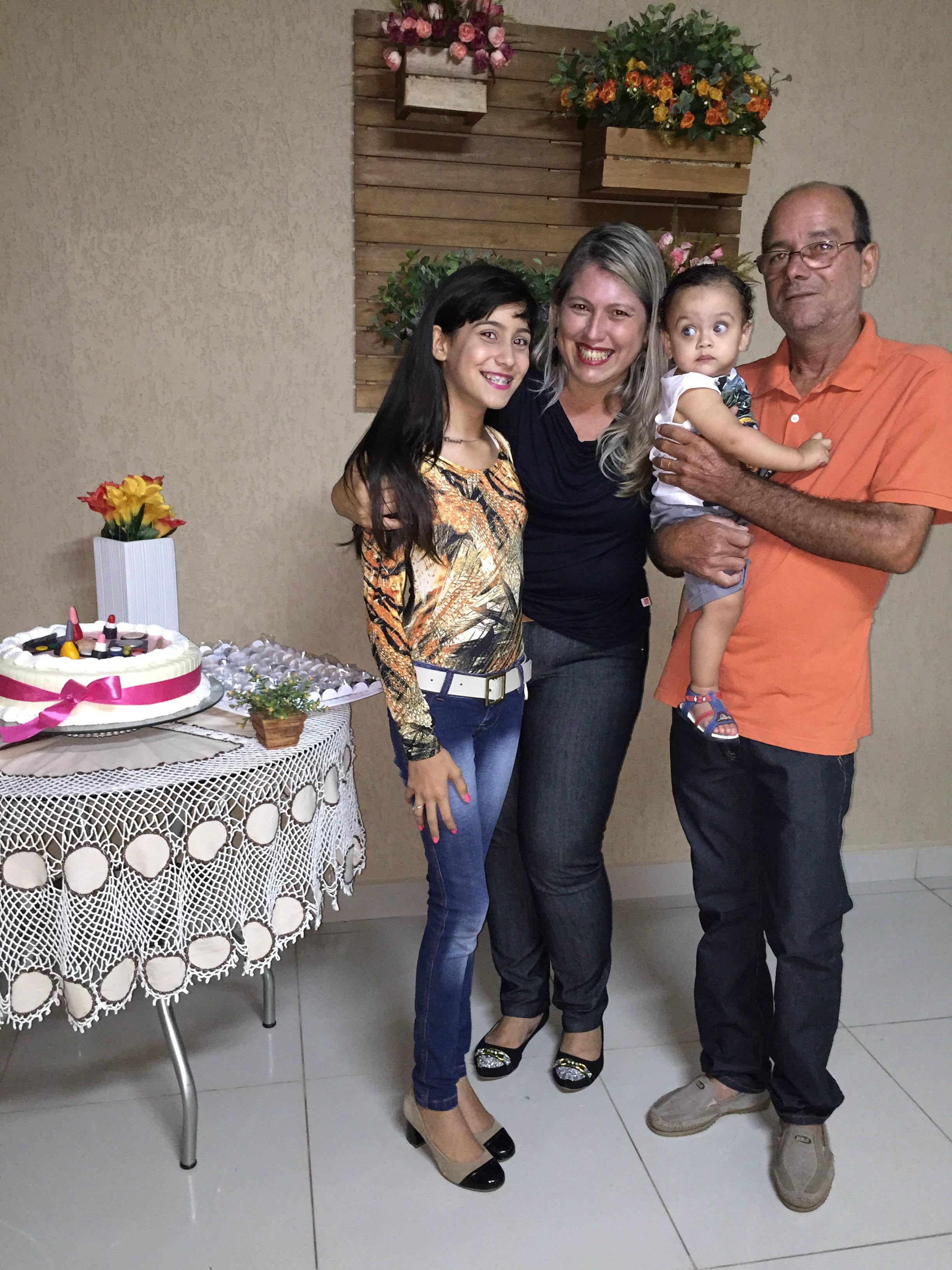 Aniversário surpresa de Luciana Souza