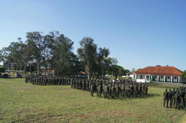 Cerca de 500 militares realizam Operação Urubupungá em Três Lagoas