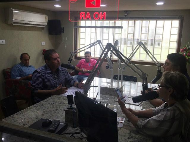 Eduardo Rocha participa de programa rádio e comenta sobre a aprovação do projeto que eleva comarca de Três Lagoas