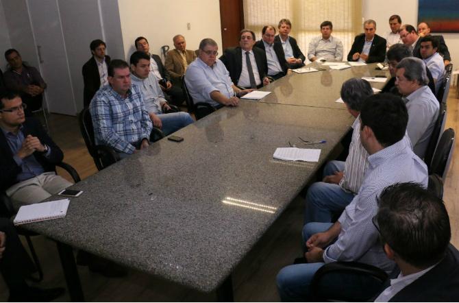 Eduardo Rocha participa da apresentação de estudos de viabilidade da Malha Oeste da Rumo ALL